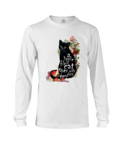A Little Black Cat Goes With Everything Long sleeve