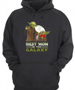 Best Mom in The Galaxy Baby Yoda hoodie