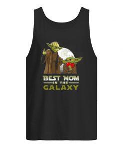 Best Mom in The Galaxy Baby Yoda tank top