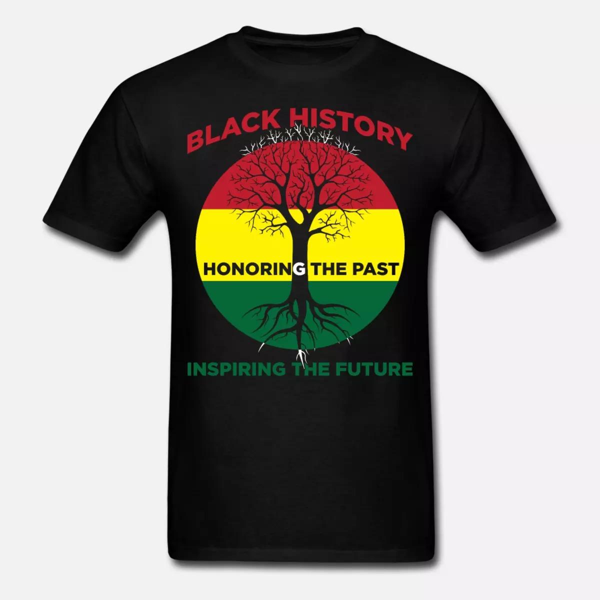 Black History Month Honoring The Past Inspiring The Future Shirt