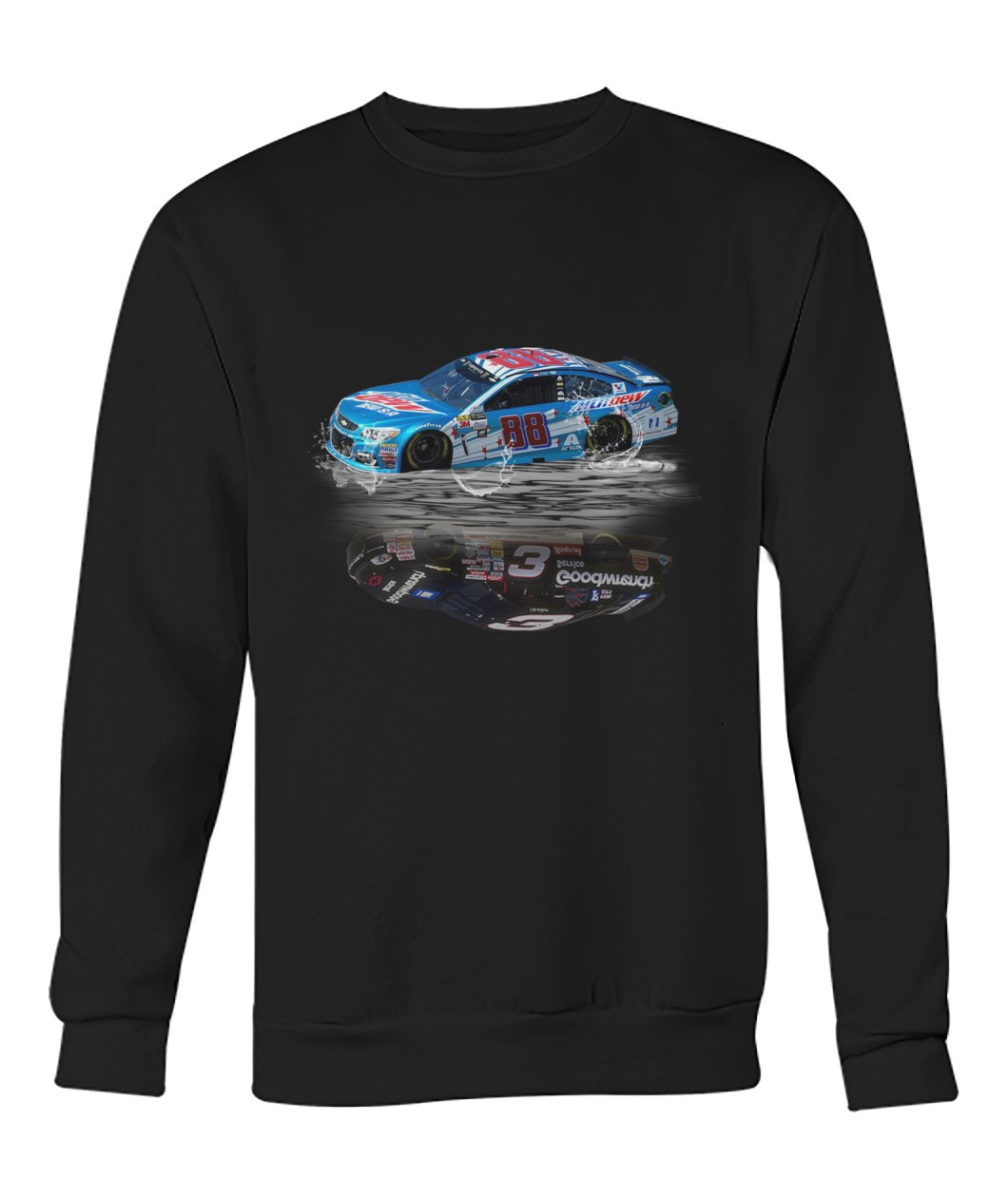 Dale Earnhardt Jr. 88 Reflection Sr 3 Nascar Sweat shirt