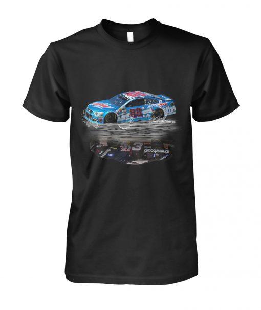 Dale Earnhardt Jr. 88 Reflection Sr 3 Nascar T-shirt