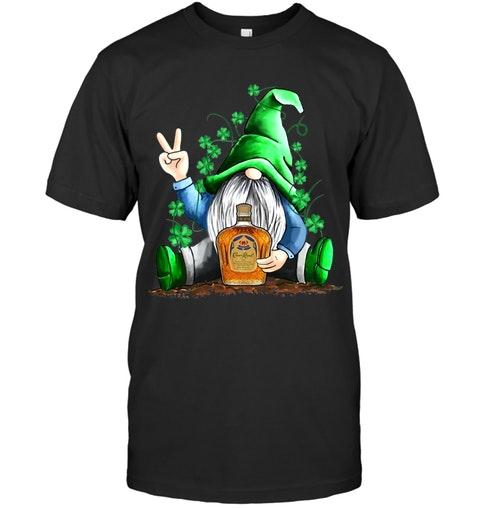 Gnomie hug Crown Royal St Patrick's Day shirt