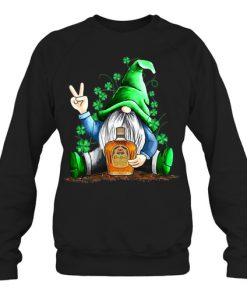 Gnomie hug Crown Royal St Patrick's Day sweatshirt