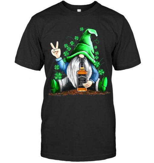 Gnomie hug Jack Daniel's St Patrick's Day shirt