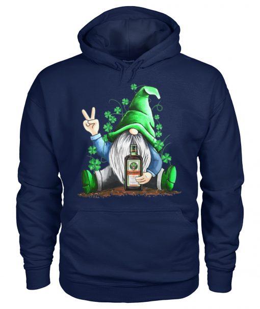 Gnomie hug Jagermeister St Patrick's Day hoodie