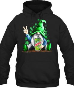 Gnomie hug Mountain Dew St Patrick's Day hoodie
