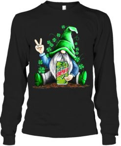 Gnomie hug Mountain Dew St Patrick's Day long sleeved