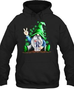 Gnomie hug Pabst Blue Ribbon St Patrick's Day hoodie
