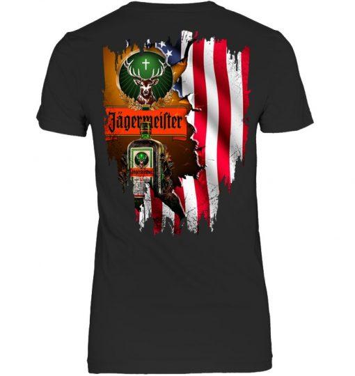 Jagermeister American Flag Sweatshirt