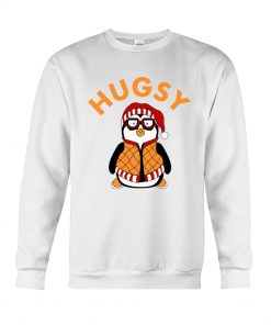Joey's Friend Hugsy Penguin Sweatshirt white