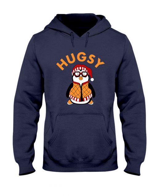 Joey's Friend Hugsy Penguin navy hoodie