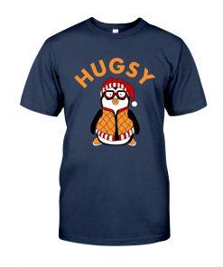 Joey's Friend Hugsy Penguin navy shirt