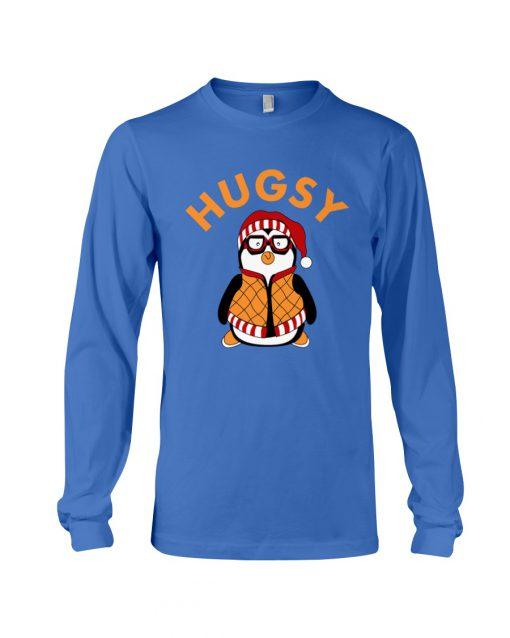 Joey's Friend Hugsy Penguin royal long sleeve