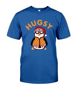 Joey's Friend Hugsy Penguin royal shirt