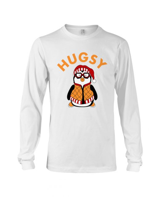 Joey's Friend Hugsy Penguin white long sleve