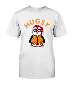 Joey's Friend Hugsy Penguin whtie shirt
