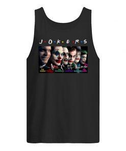 Joker the maniac comedian psychopath anarchist gangster clown tank top