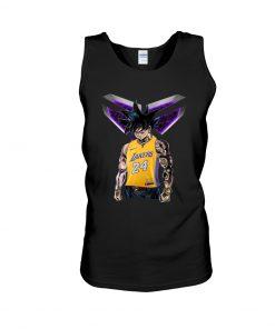 Kobe Bryant - Songoku 24 Lakers tank top