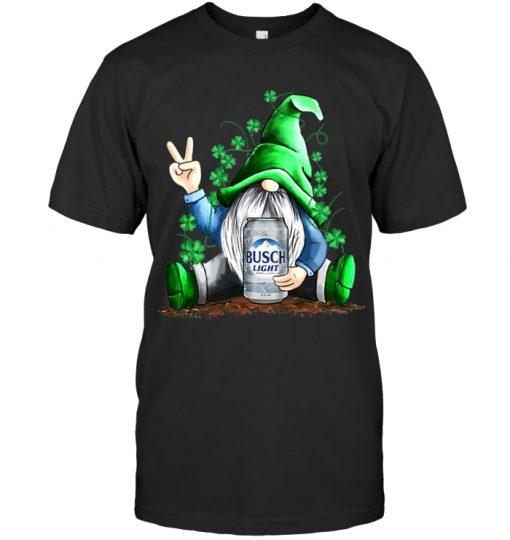 Leprechaun Hug Busch Light Saint Patrick's Day shirt