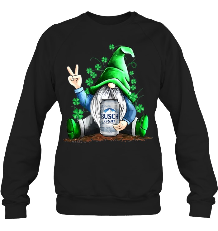 Leprechaun Hug Busch Light Saint Patrick's Day sweatshirt