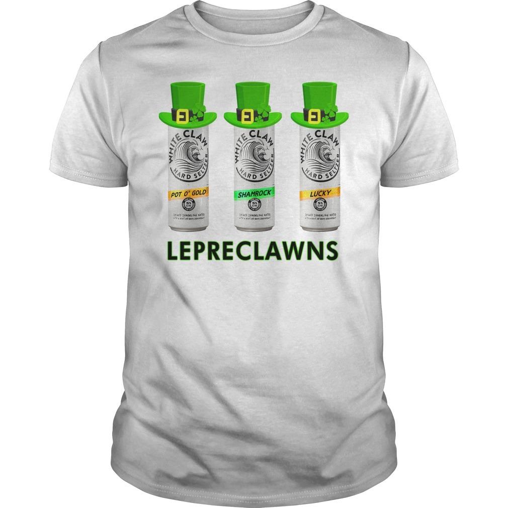 Lepreclawns Lucky Shamrock Drinking St Patrick's Day T-Shirt