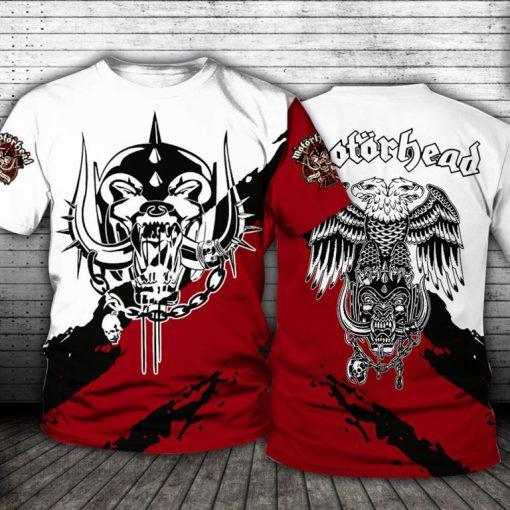 Motorhead Logo All over print shirt