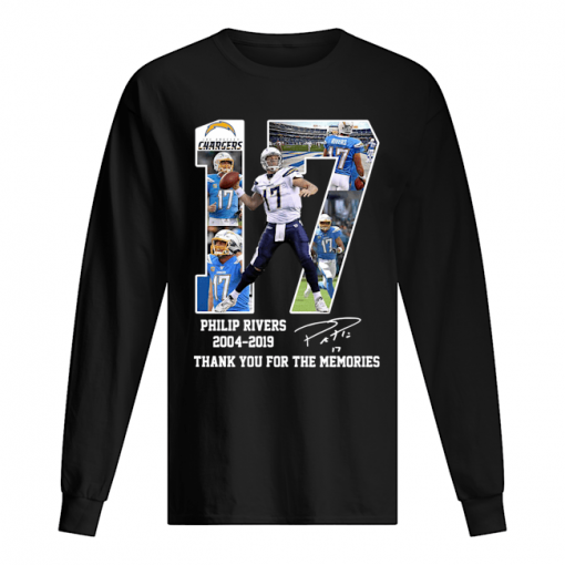 Philip Rivers 17 Thank you for the memories sweatshirt