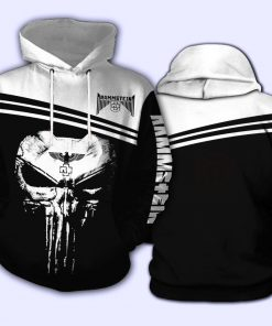 Rammstein Punisher Skull All over print hoodie
