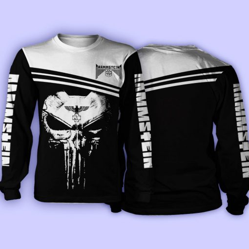 Rammstein Punisher Skull All over print long sleeve