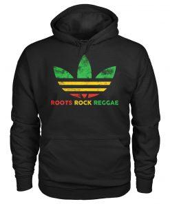 Roots Rock Reggae Adidas vintage hoodie