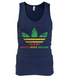 Roots Rock Reggae Adidas vintage tank top
