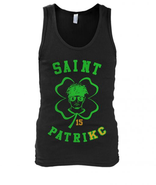 Saint Patrick Mahomes Kansas City Chiefs tank top