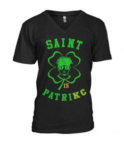 Saint Patrick Mahomes Kansas City Chiefs v-neck