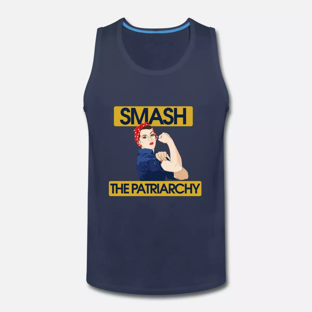 Smash The Patriarchy We Can Do It Women Tank top