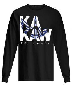 St. Louis BattleHawks Logo long sleeved