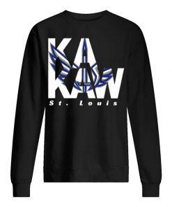 St. Louis BattleHawks Logo sweatshirt