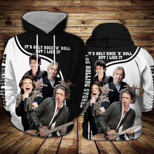The Rolling Stones It's Only Rock 'n Roll All over print hoodie