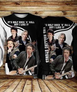 The Rolling Stones It's Only Rock 'n Roll All over print long sleeve