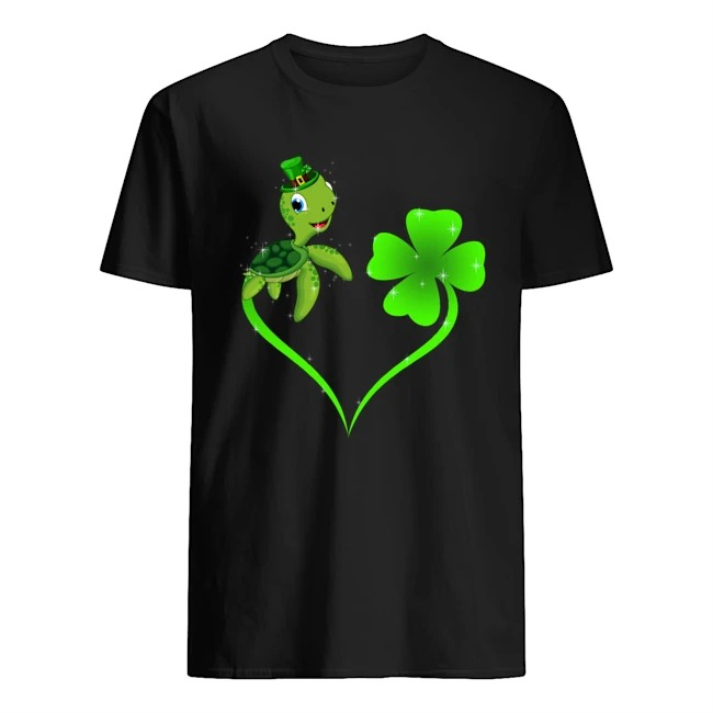 Turtle Shamrock St Patrick's Day Shirt