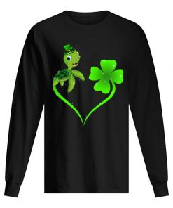 Turtle Shamrock St Patrick's Day sweatshirt