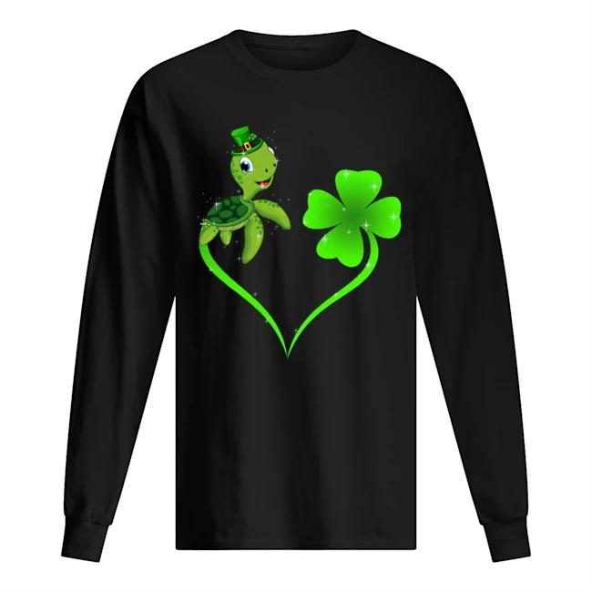 Turtle Shamrock St Patrick's Day sweatshirt