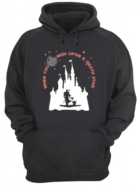 When you wish upon a death star Baby Yoda Disney hoodie
