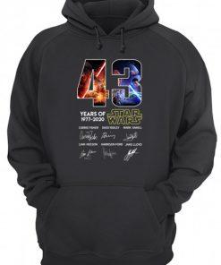 43 years of Star Wars Hoodie