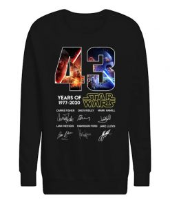 43 years of Star Wars Sweatshirt
