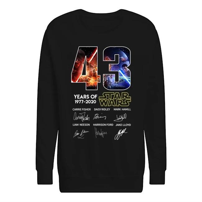 43 years of Star Wars Sweatshirt