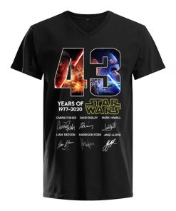 43 years of Star Wars V-neck