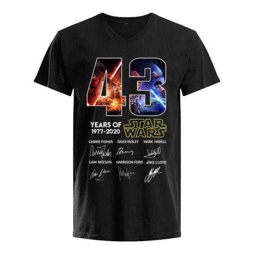 43 years of Star Wars V-neck
