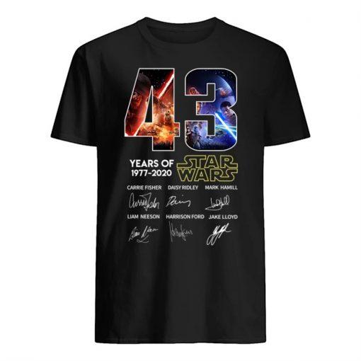 43 years of Star Wars shirt