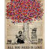 All You Need Is Love And Books Poster